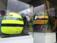 Merchandising-Stand von Ayrton Senna