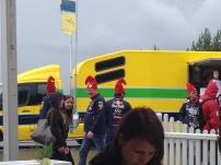 Kreative Ferrari-Fans